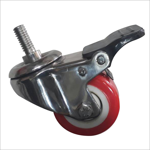 ss 304 Break PU Caster Wheels