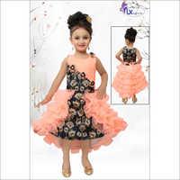 Girl Designer Cotton Frock