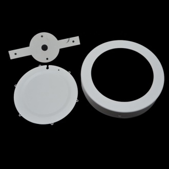 6watt Led Surface Panel Round Fixture