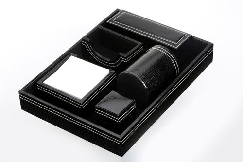 Leather Desktop Organizers