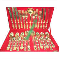Brass Gold Plated Cutlery