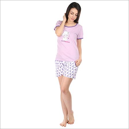 5958915160 Semantic Women s Cotton PJ Night Suits Sleepwear Butterfly Print ...