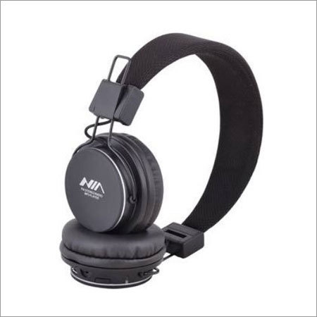 NIA 8820 Black Headphone