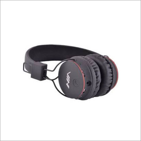 NIA Bluetooth X2 Black Headphone