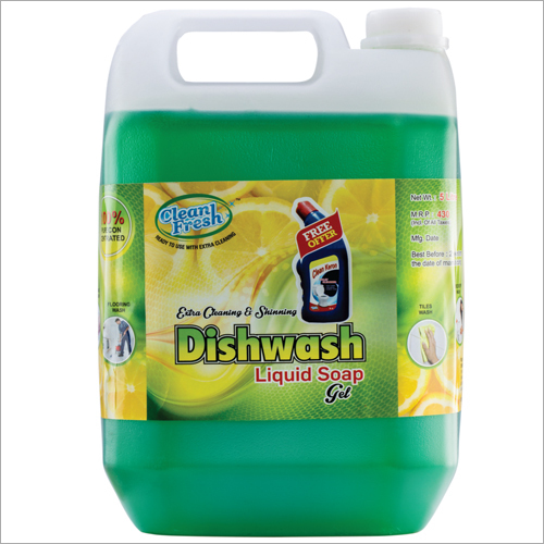 Dishwash Liquid Soap Gel