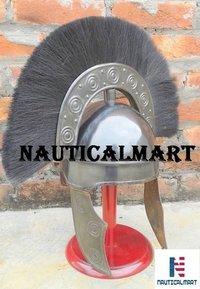 NAUTICAL MART Roman Armour Costume Medieval Antique Rome Hbo Armour Helmet~Collectibles Roman Armor Helmet