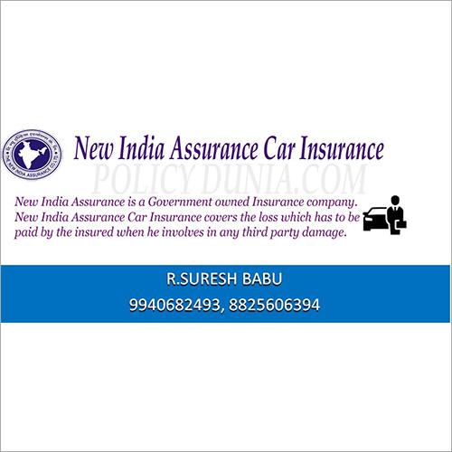 New India Assurance Car Insurance Manufacturer New India Assurance