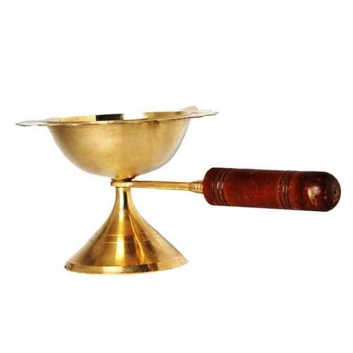 Brass Dhoopya - 11.4Cm