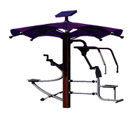 BICYCLE & CHEST  PRESS OUTDOOR