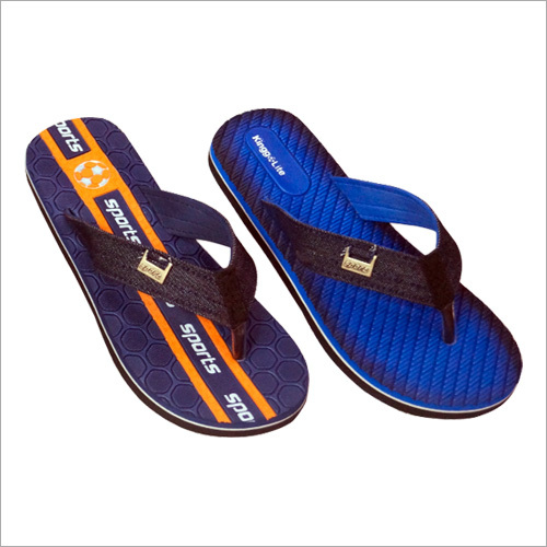 Mens Lightweight Printed Flip Flop