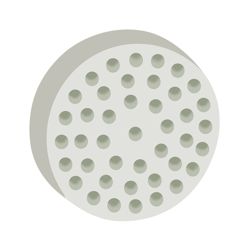Round Taper Honeycomb Filter