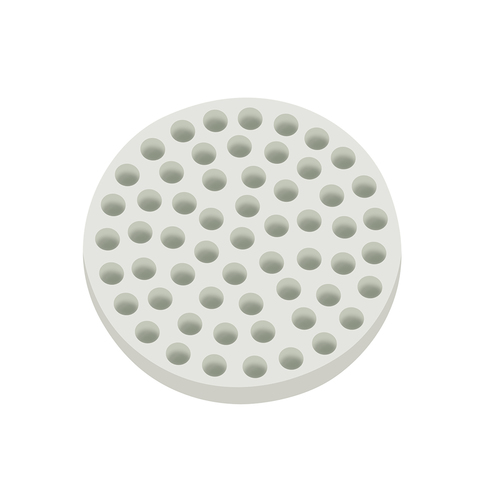 Round Honeycomb Filter