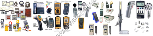 testing and measuring equipments