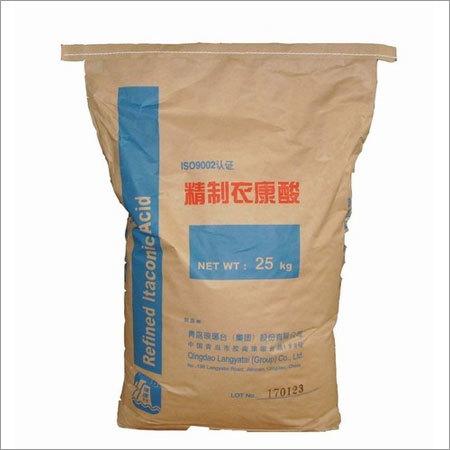 Itaconic Acid 99% Min Density: 1.63 Gram Per Cubic Meter (G/M3)