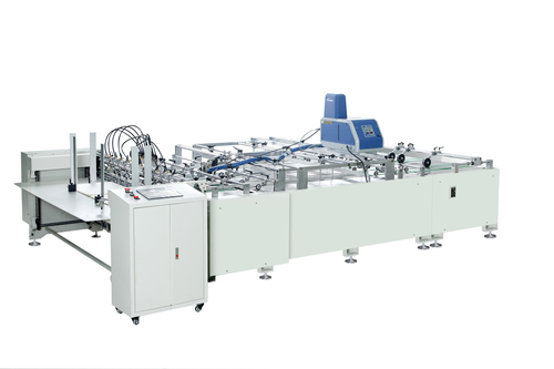 Two Sheets Pasting Machine