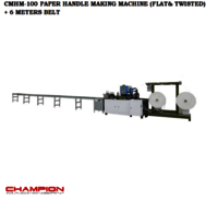 CMHM-100 PAPER HANDLE MAKING MACHINE(Flated&Twisted)