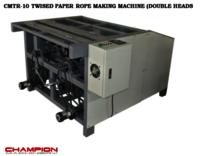 CMTR-10 TWISTED PAPER ROPE MAKING MACHINE