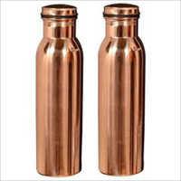 Copper Water Bottle Plain