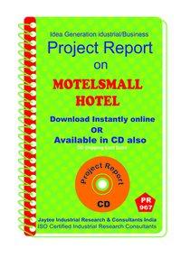 Motel small Hotel Establishment Project Report eBook