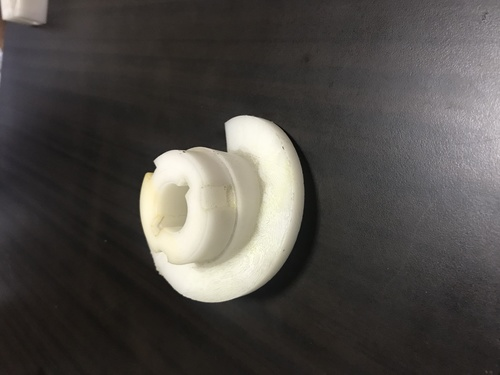 Delrin Gear ( Machined Plastic Part )