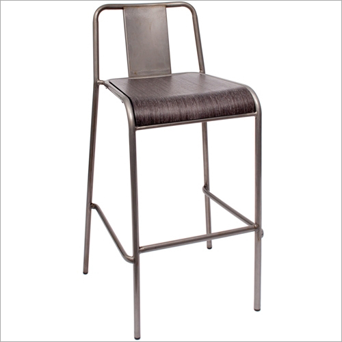 Stackable Outdoor / Indoor Bar Stool Chair.