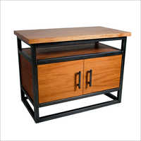 Wooden Table Cabinet