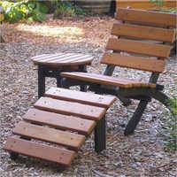 Classic Chairs Garden Art