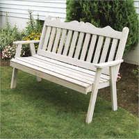Royal English Garden Bench Gray