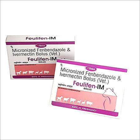 Micronized Fenbendazole Ivermectin Bolus
