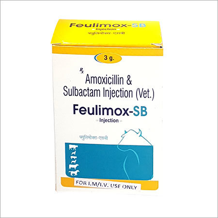 Amoxicillin Sulbactam Veterinary Injection