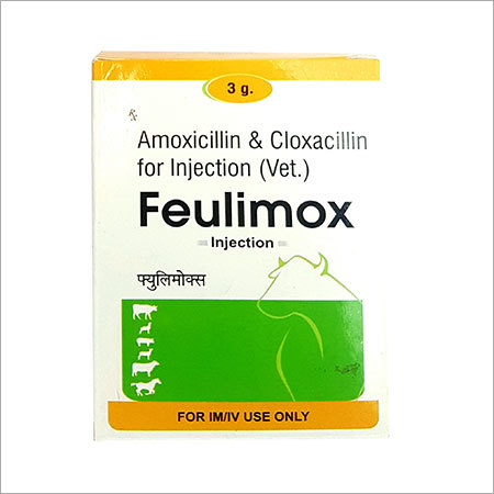 Amoxicillin Cloxacillin Veterinary Injection