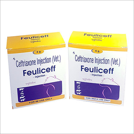 Ceftriaxone Veterinary Injection