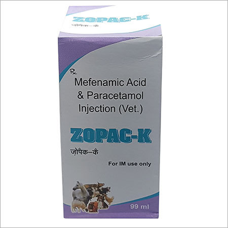 Mefenamic Acid & Paracetamol 99 mL Injection