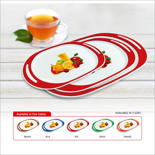 Corporate Plastic Serving Tray
