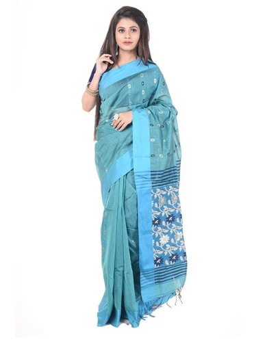Gadwal Handloom Cotton Saree