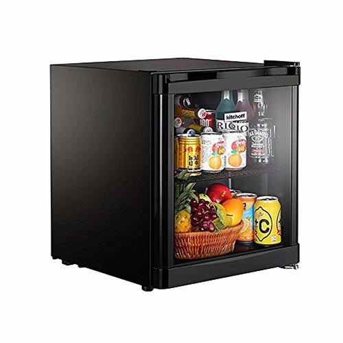Glass Door Mini Refrigerator