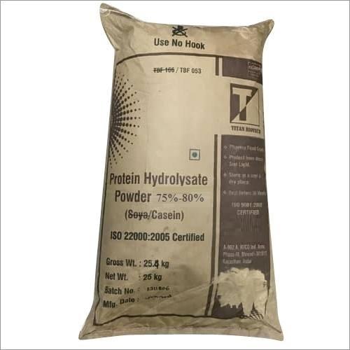 Soya/CASEIN PROTEIN HYDROYSATE POWDER 75% - 80%