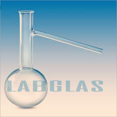 Flask Distillation With Side Tube At 75 Degree Angle