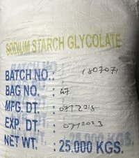 SODIUM STARCH GLYCOLLATE (PHARMA/I.P)