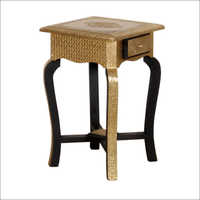 Brass Fitted Stool