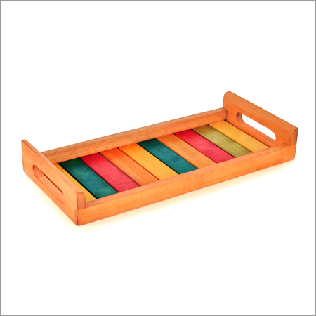 Rainbow Wooden Tray