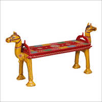 Camel Wooden Seat