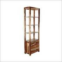 Hummel Book Shelf In Natural Sheesham