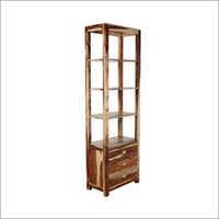 Hummel Book Shelf In Natural Sheesham