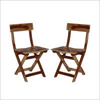 Folding Set Of Two Chairs