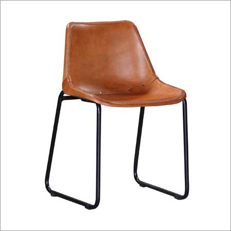 Medina Natural Color Leather Accent Chair