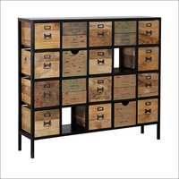 Cologne Chest Of Drawers In Colonial Maple Finish