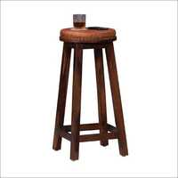 Restaurant Leather Seated Stool