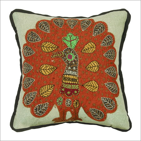Peacock Handcrafted Cushion Covers