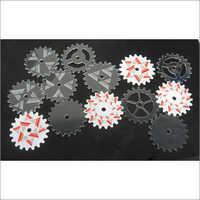 Acrylic Gear Laser Cutting Service